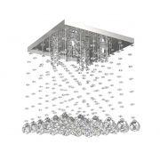 Lustre de Cristal Legitimo 32cm Sala de estar Mesa Jantar Quarto Living C/ Lâmpadas Led