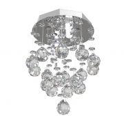 Lustre de Cristal Legitimo 15cm  Corredor Lavabo Hall Entrada Sacada