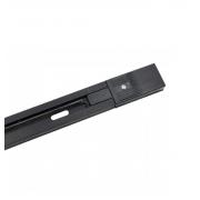 Trilho Eletrificado 1m Preto Para Spots Eletrificado Nordecor 6055