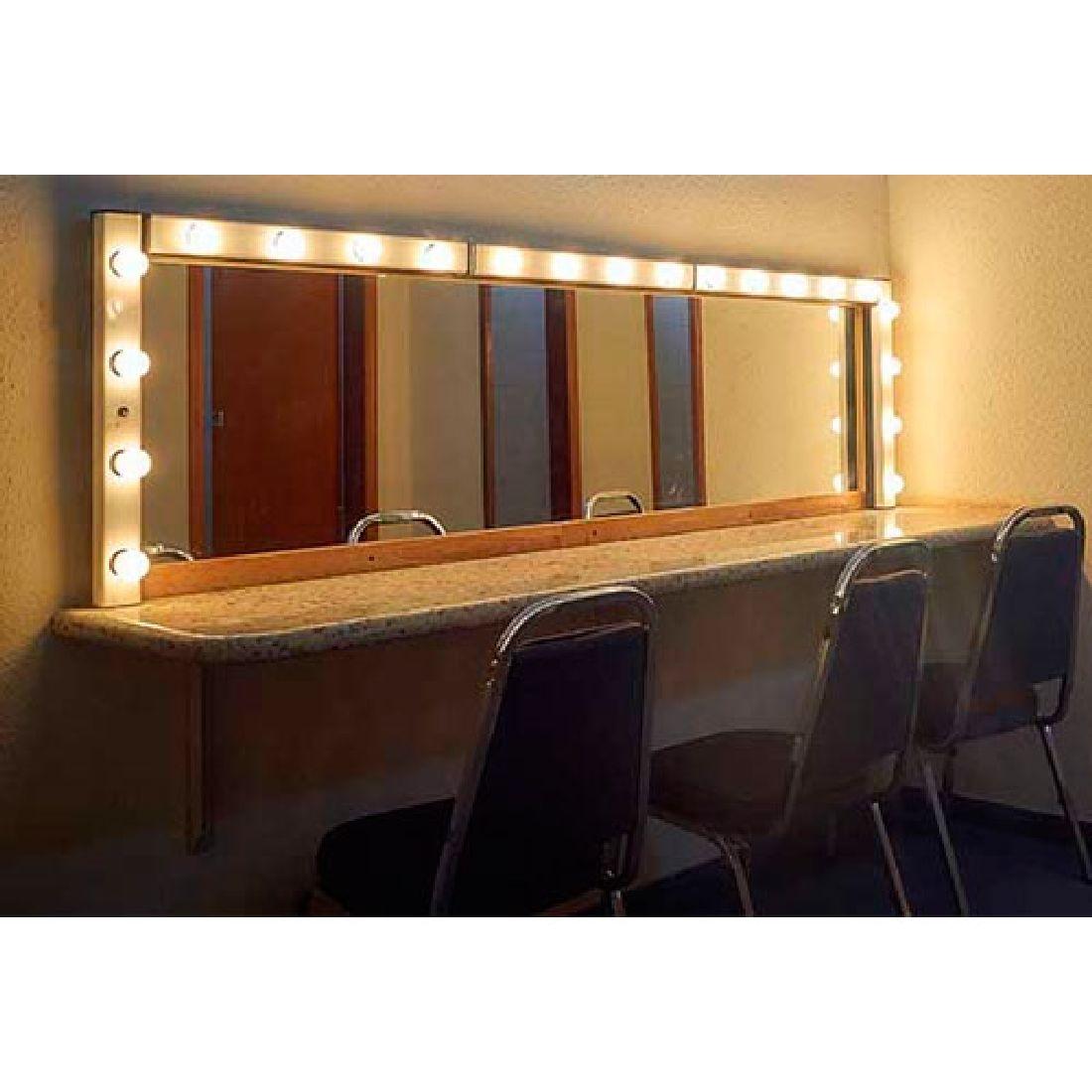 Arandela Camarim Com Tecla 50cm Para Espelho Maquiagem Penteadeira