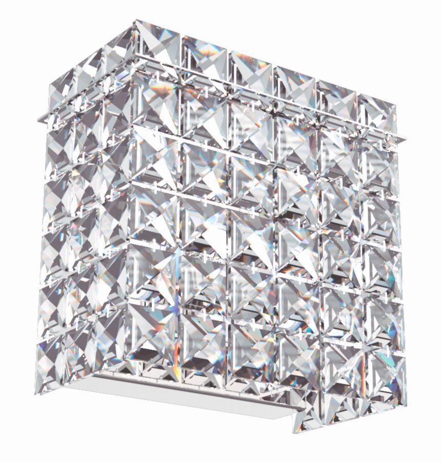 Arandela de Cristal Legitimo Quarto Sala Escada Corredor Lavabo Espelho Painel Cabeceira De Cama Living Hall Entrada AR600