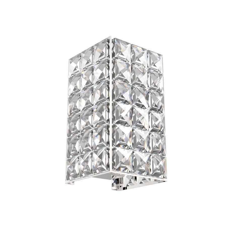 Arandela de Cristal Legitimo Quarto Sala Escada Corredor Lavabo Espelho Painel Cabeceira De Cama Living Hall Entrada AR601P