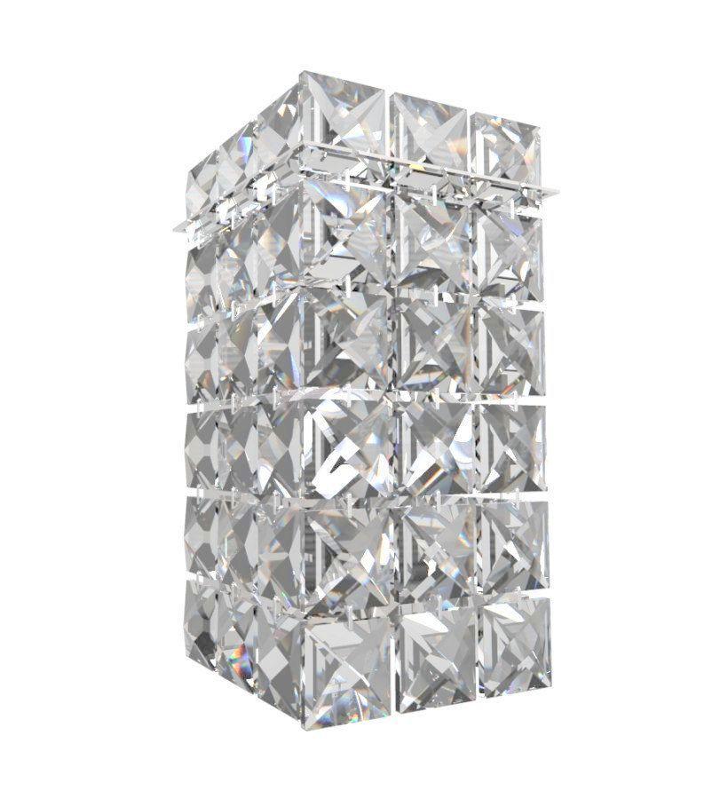 Arandela de Cristal Legitimo Quarto Sala Escada Corredor Lavabo Espelho Painel Cabeceira De Cama Living Hall Entrada AR603P
