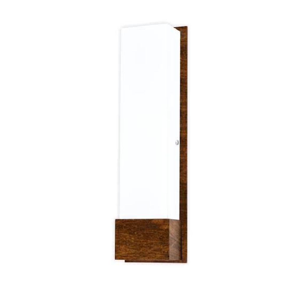 Arandela em Madeira Sala Corredor Lavabo Espelho Accord