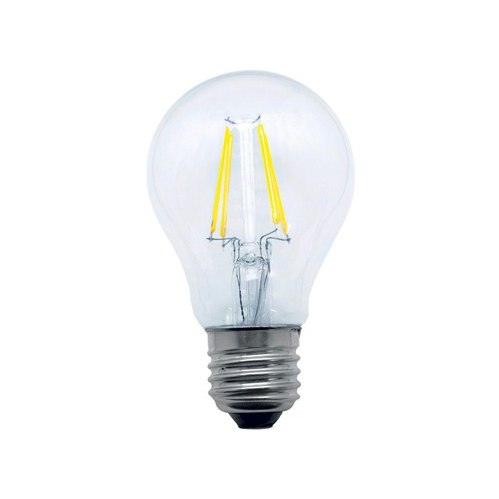 Kit 9 Lâmpadas Led Bulbo Cristal A60 4W Luz Amarela E27 Vintage Bivolt