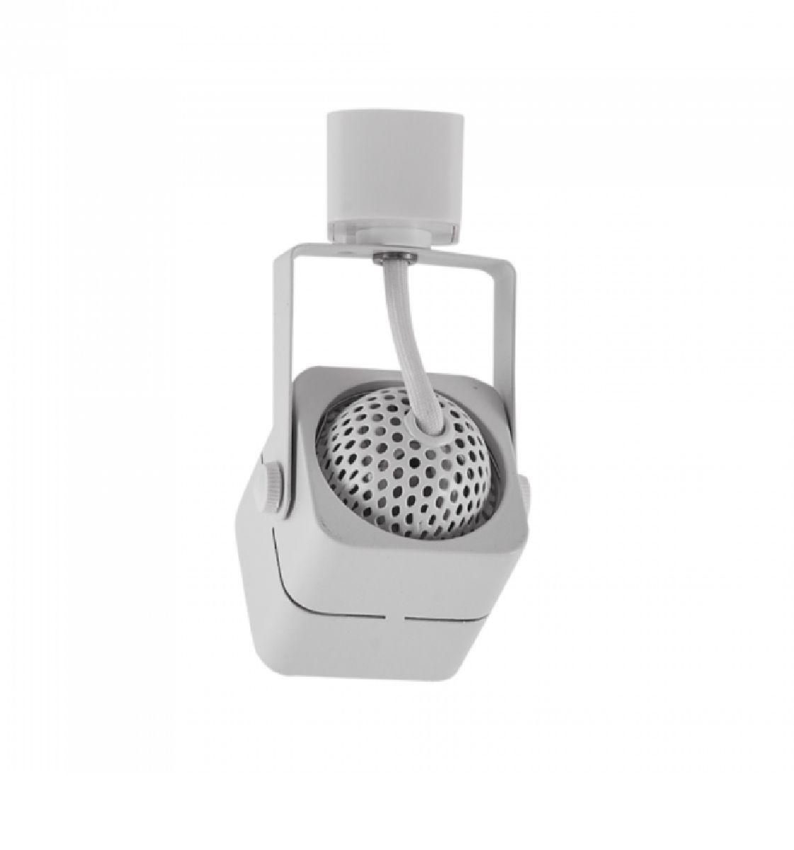 Kit Trilho Eletrificado 1,5m Branco Nordecor + 4 Spot Quad MR16 / GU10