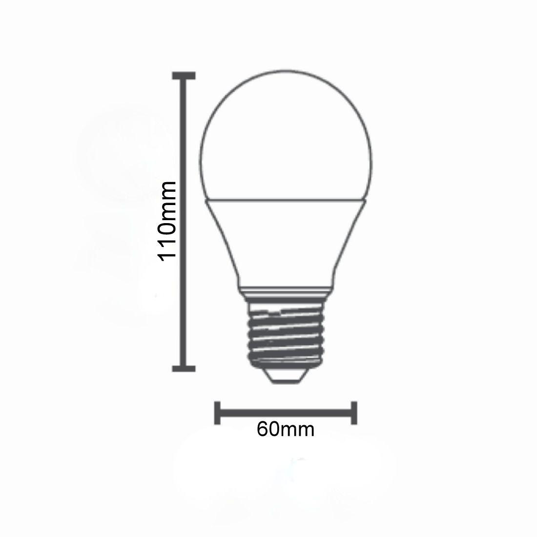 Lâmpada Led Bulbo A60 4,8w 480lm 2700k E27 Bivolt Save Energy