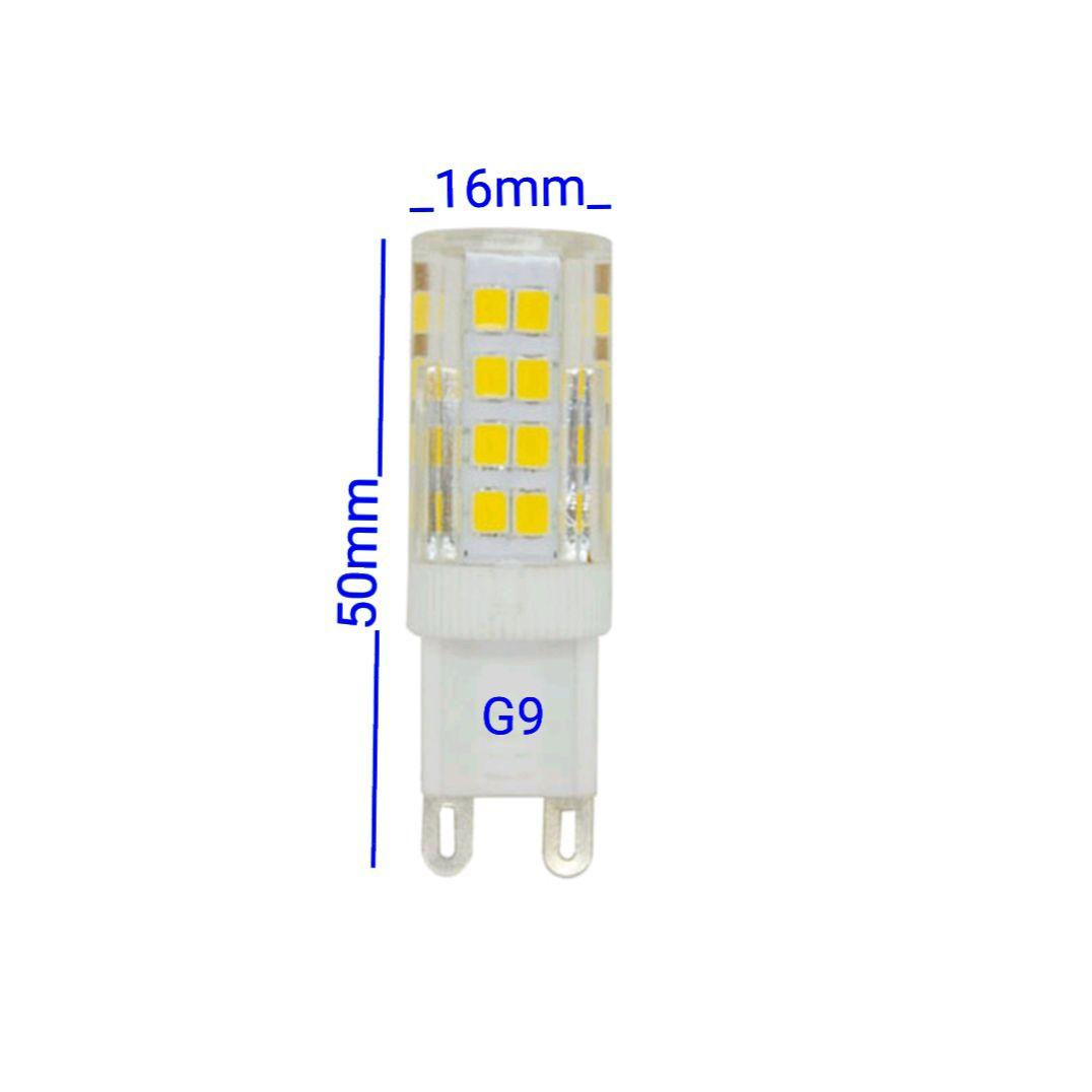 Lampada de Led G9 4,5w Lustres Luminárias Arandelas Spots