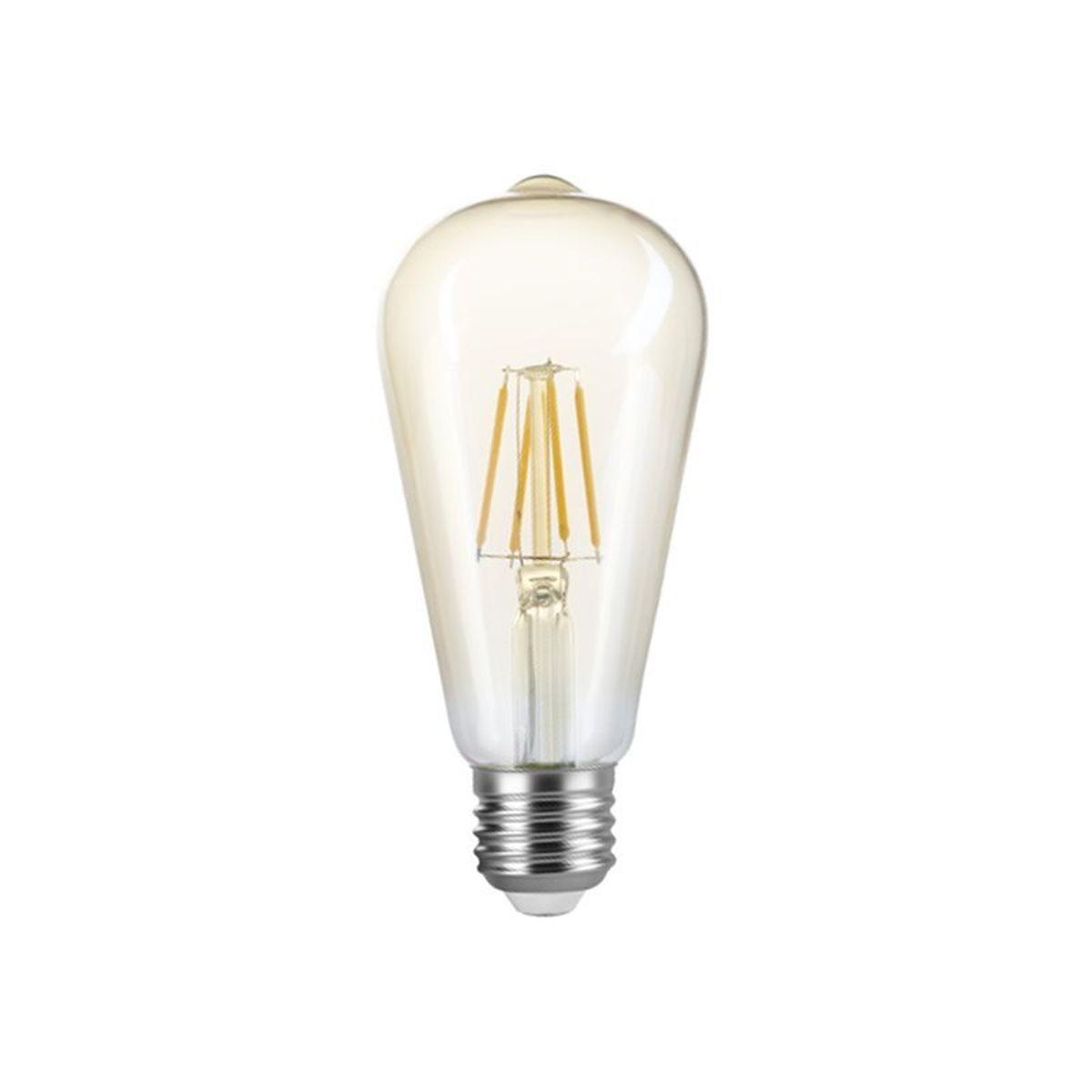Lâmpada Led Pera ST64 Filamento Vintage 4w Bivolt Nordecor
