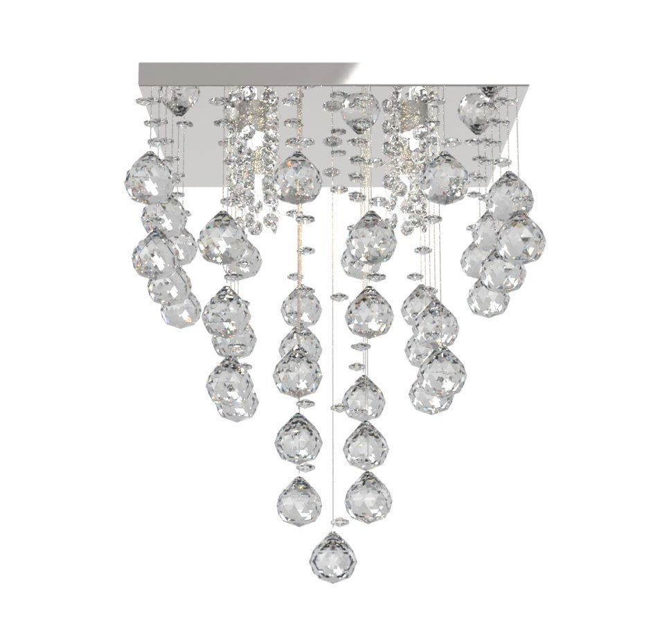Lustre de Cristal Legitimo 32cm Sala de estar Mesa Jantar Quarto Living Moderno L301