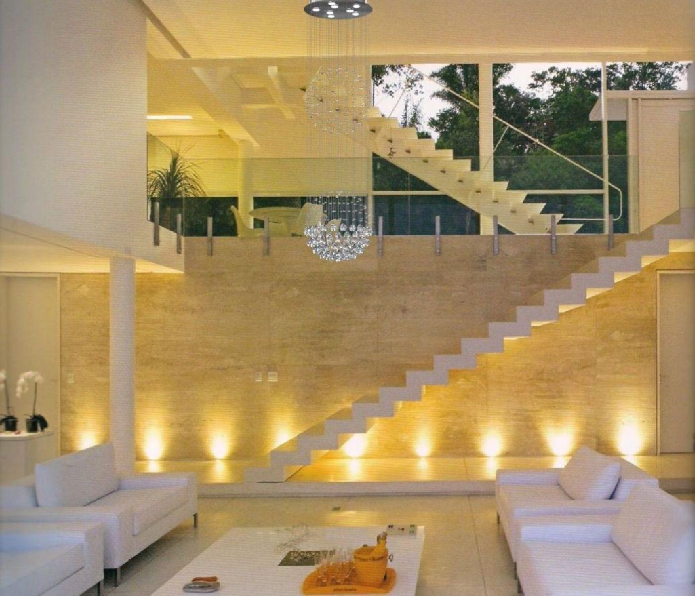 Lustre de Cristal Legitimo Globo Duplo 40cm Pé Direito Duplo Vão de Escada Sala Alta G240 Com Lampadas Led