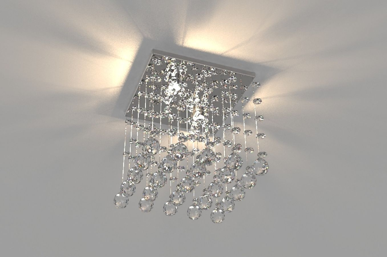 Lustre de Cristal Legitimo 21cm Corredor Lavabo Hall Entrada Sacada L303