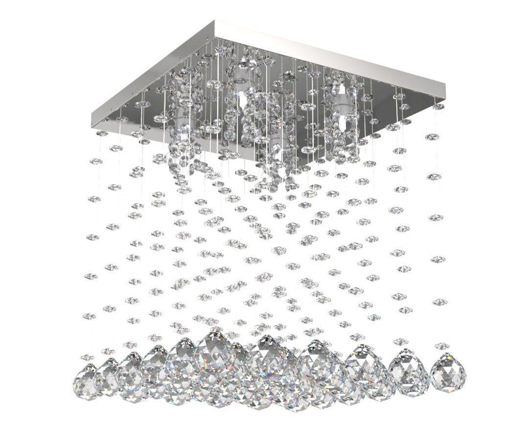 Lustre de Cristal Legitimo 32cm Sala de estar Mesa Jantar Quarto Living L303