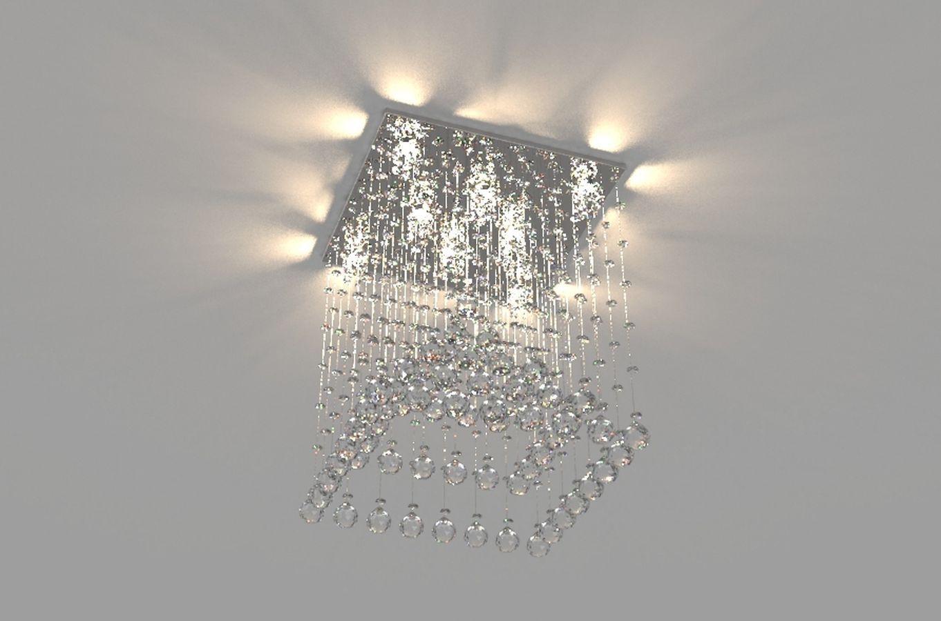 Lustre de Cristal Legitimo Piramide 42cm Sala de estar Mesa Jantar Quarto Living C/ Lâmpadas Led