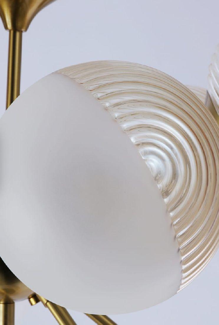 Lustre Pendente Jabuticaba Moderno 12 Vidros Mesa De Jantar Área Gourmet Sala Vão de Escada