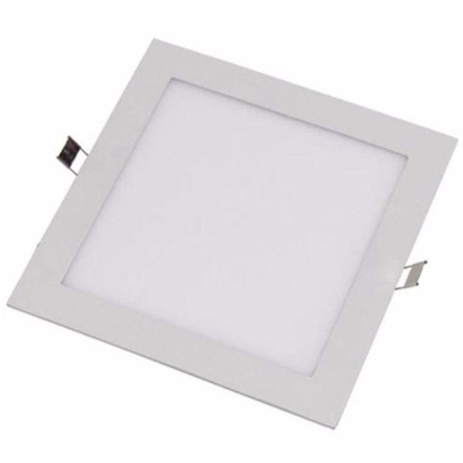 Painel Plafon Led Embutir 25w Quadrado Slim Bivolt 30x30cm Save Energy