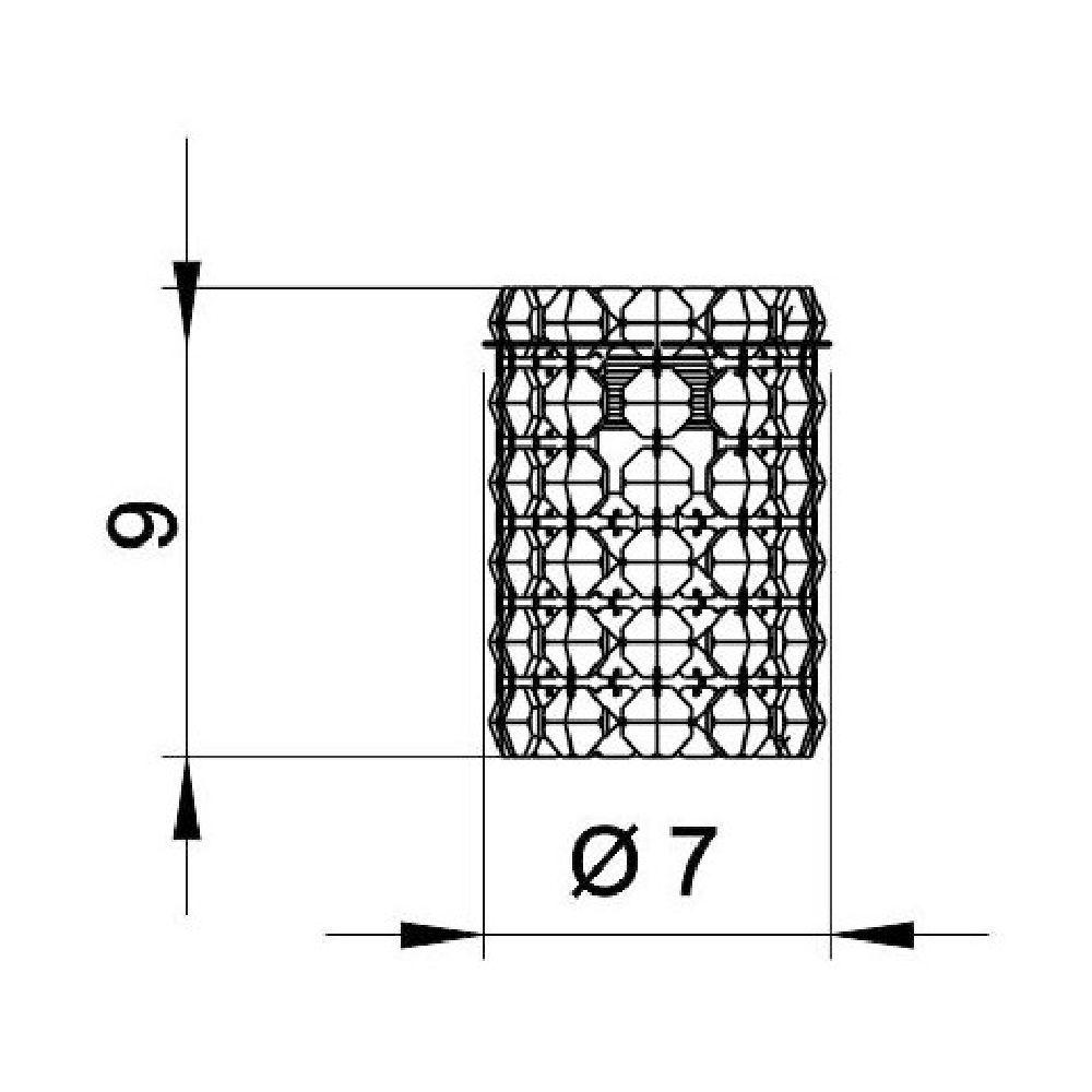 Pendente de Cristal Legitimo 12cm Cabeceira de Cama Quarto Criado Mudo