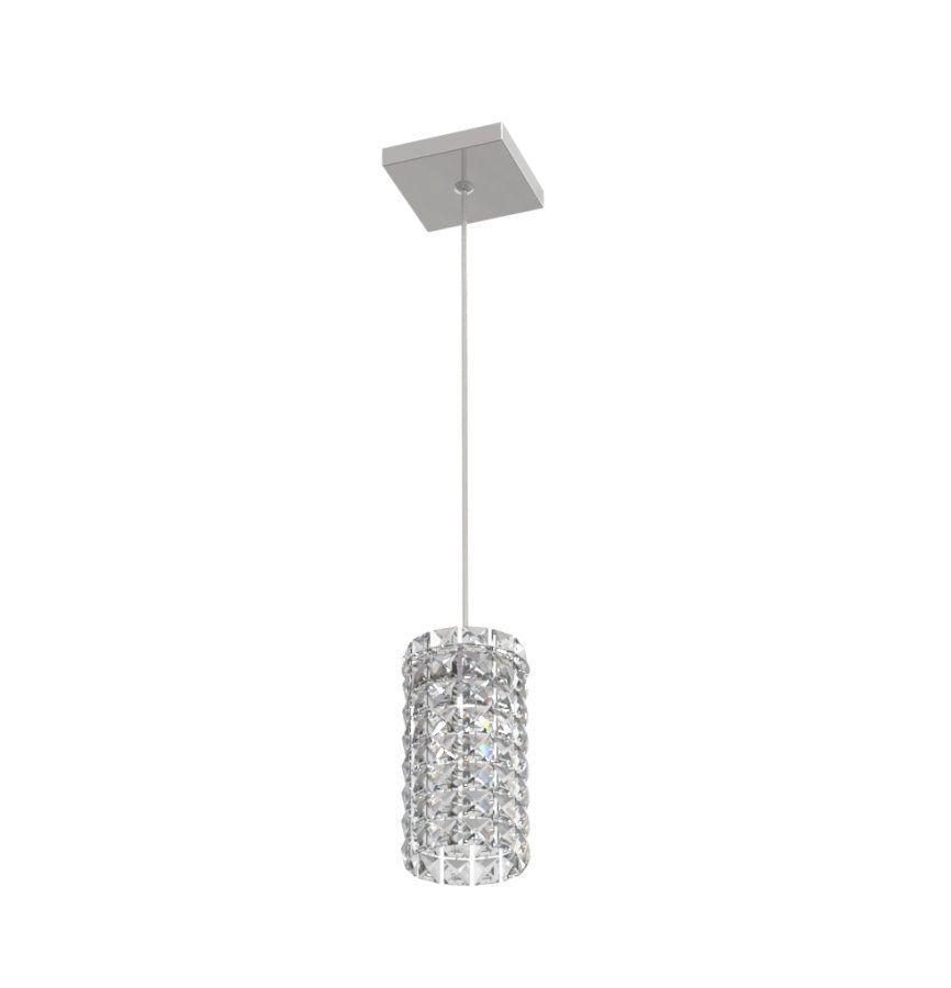 Luminária Pendente De Cristal 11cm Mesa Balcão Quarto Cabeceira de Cama