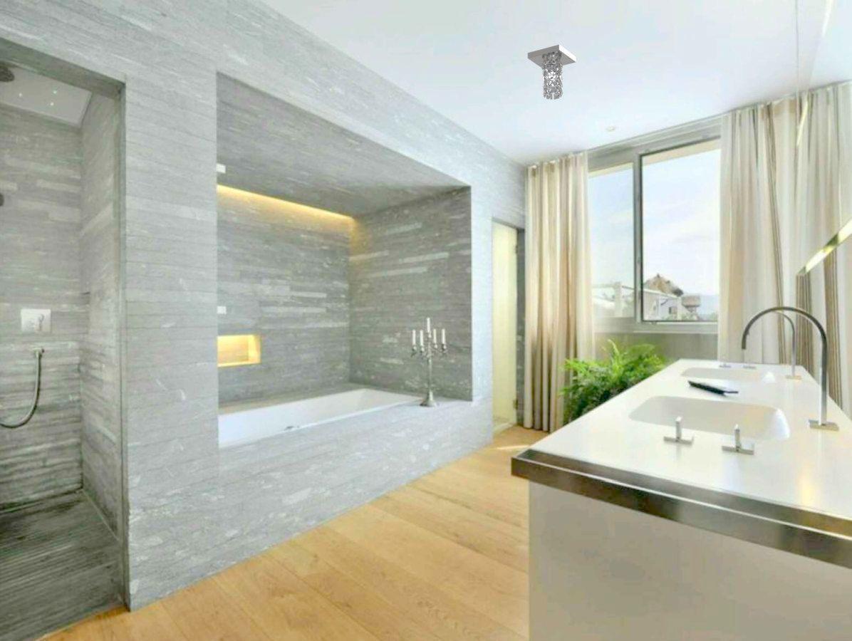 Luminária Plafon De Cristal Quadrado 12cm Balcão Bancada Corredor Lavabo Banheiro
