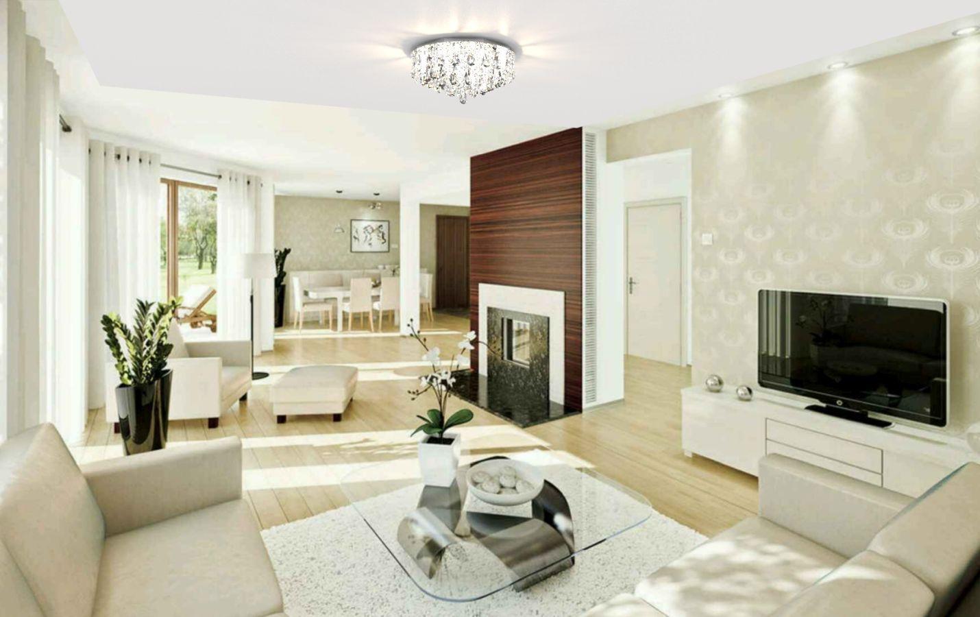 Plafon Lustre de Cristal Legitimo 40cm Sala de estar Mesa Jantar Quarto Living C/ Lâmpadas Led