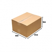 25 Caixas Papelão Correios Sedex Pac Flex Envios 30x25x16