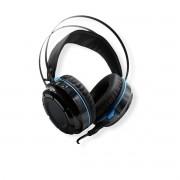 Fone Gamer Headset Super Bass 7.1 USB Com Led e Mic para PC Xbox PS