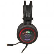 Fone Gamer Headset USB Com Led e Mic para PC Xbox PS4
