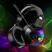 Headset Gamer Super Bass 7.1 Headphone PC Xbox PS4 RGB Led
