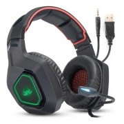Kit Gamer Completo Headset + Teclado + Mouse para PC