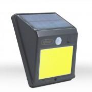 Luminaria Arandela Solar 60 Leds e Sensor Presença