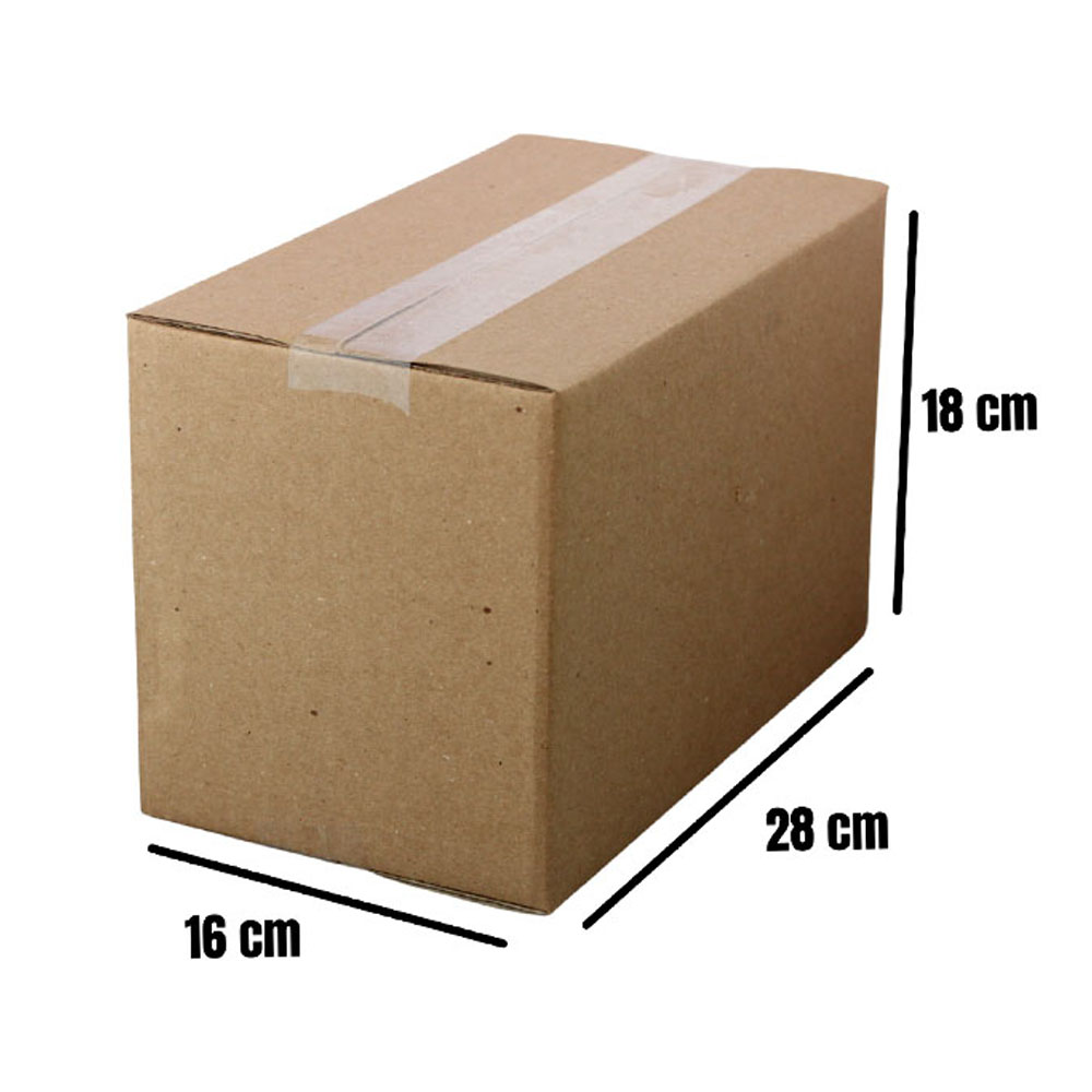 25 Caixas de Papelão para Envio Correios Sedex Pac 28x16x18