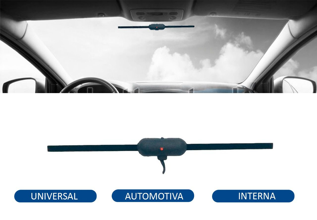 Antena Interna Automotiva Universal