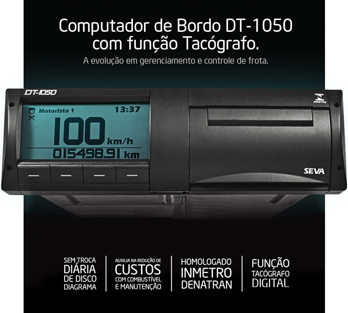Bobina Fita Diagrama Seva Vt-140 Dt 1050
