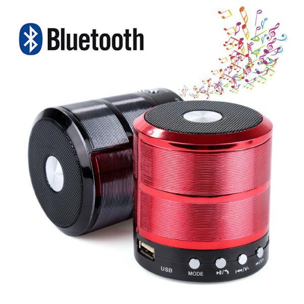 Caixa De Som Portátil Mini Bluetooth Mp3 Fm Sd Usb