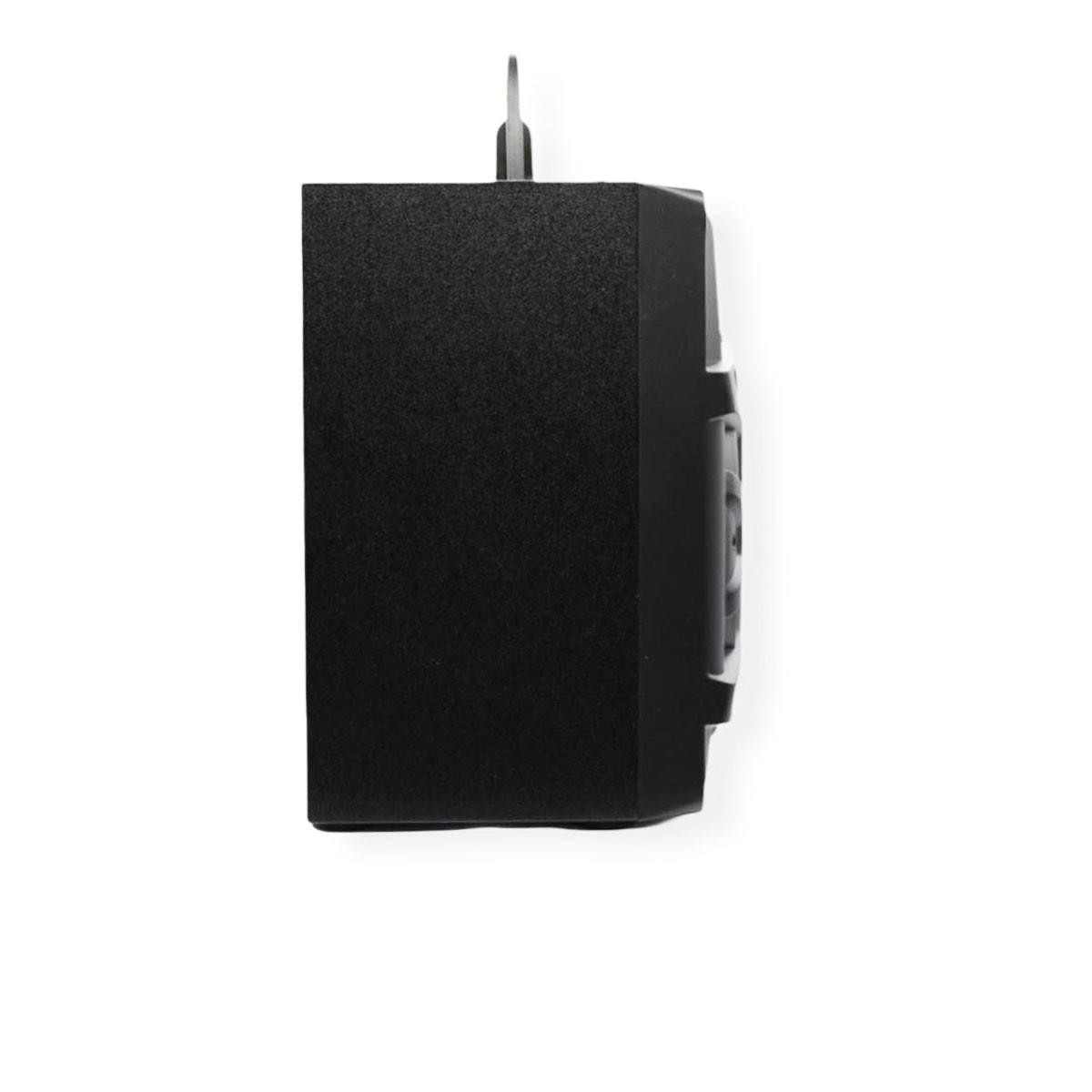 Caixinha De Som Portatil Caixa Bluetooth Usb Radio Fm Led