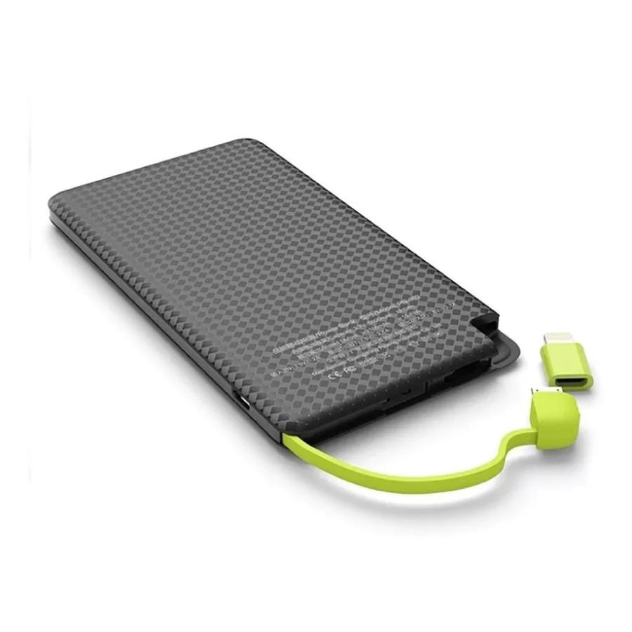 Carregador Portatil Celular  Android IOS Power Bank 5000mAH