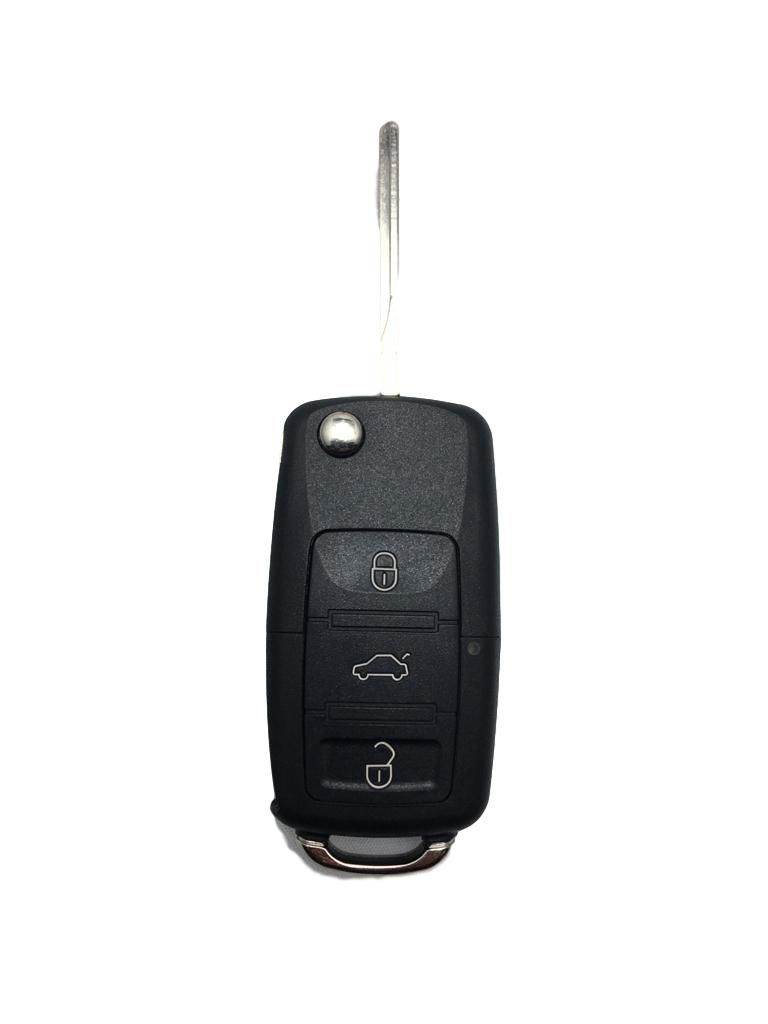Chave Volkswagen Canivete Oca Com 3 Botões