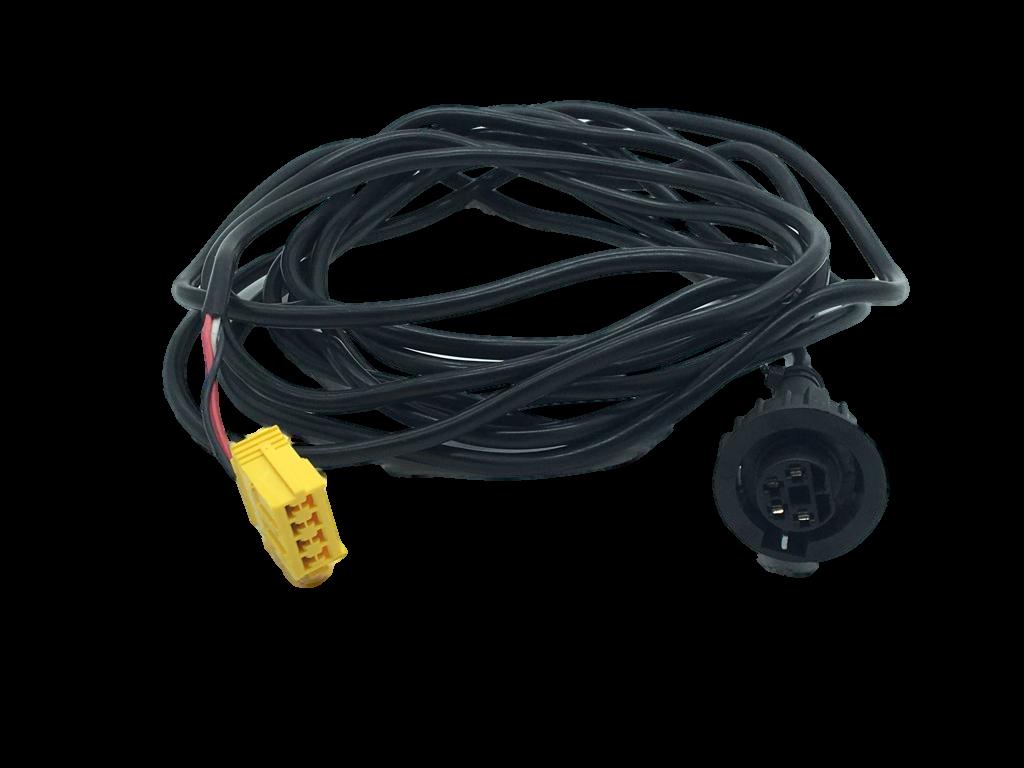 Chicote Sensor Tacografo 5 Metros com Tomada 4 Pinos Chatos