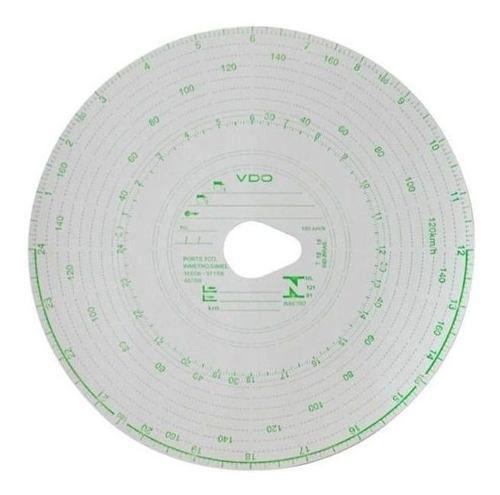 Disco Diagrama Tacógrafo Diario 180Km 24 Horas - Vdo