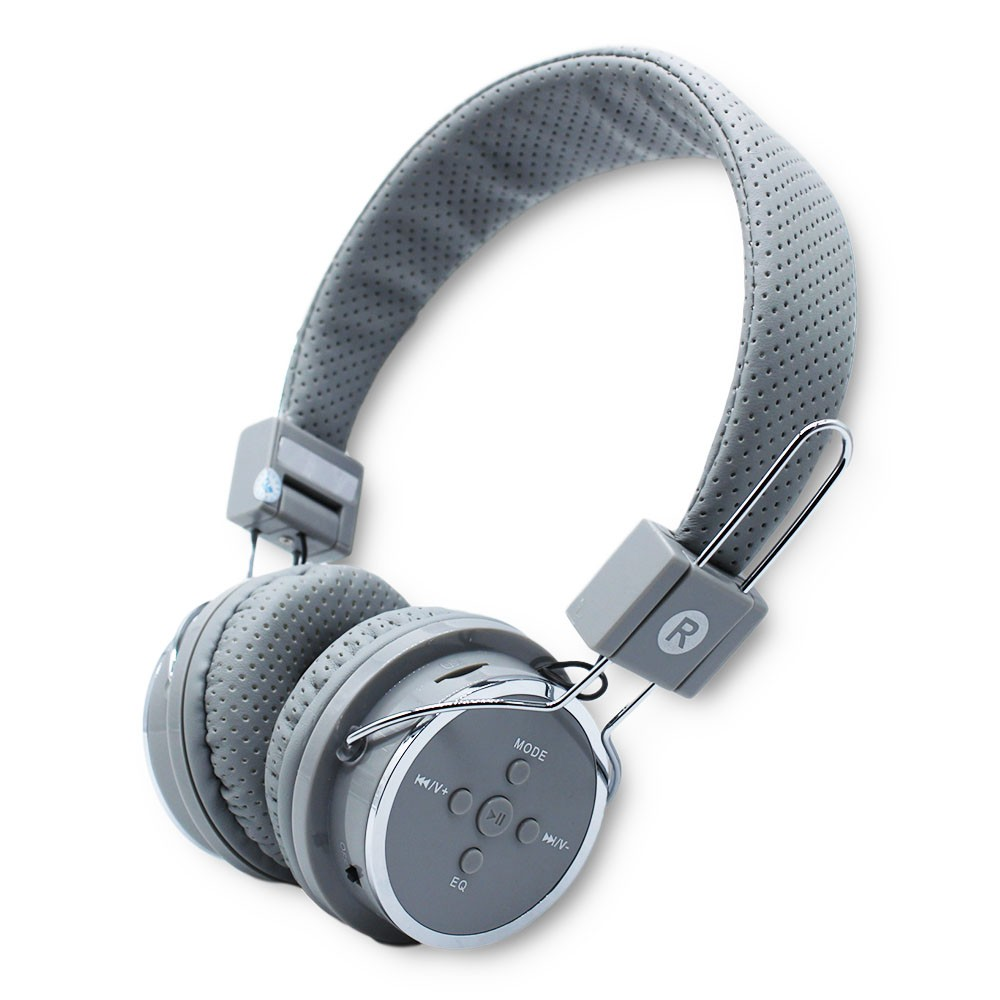 Fone De Ouvido Bluetooth Sem Fio Fm Mp3 Microfone Micro Sd