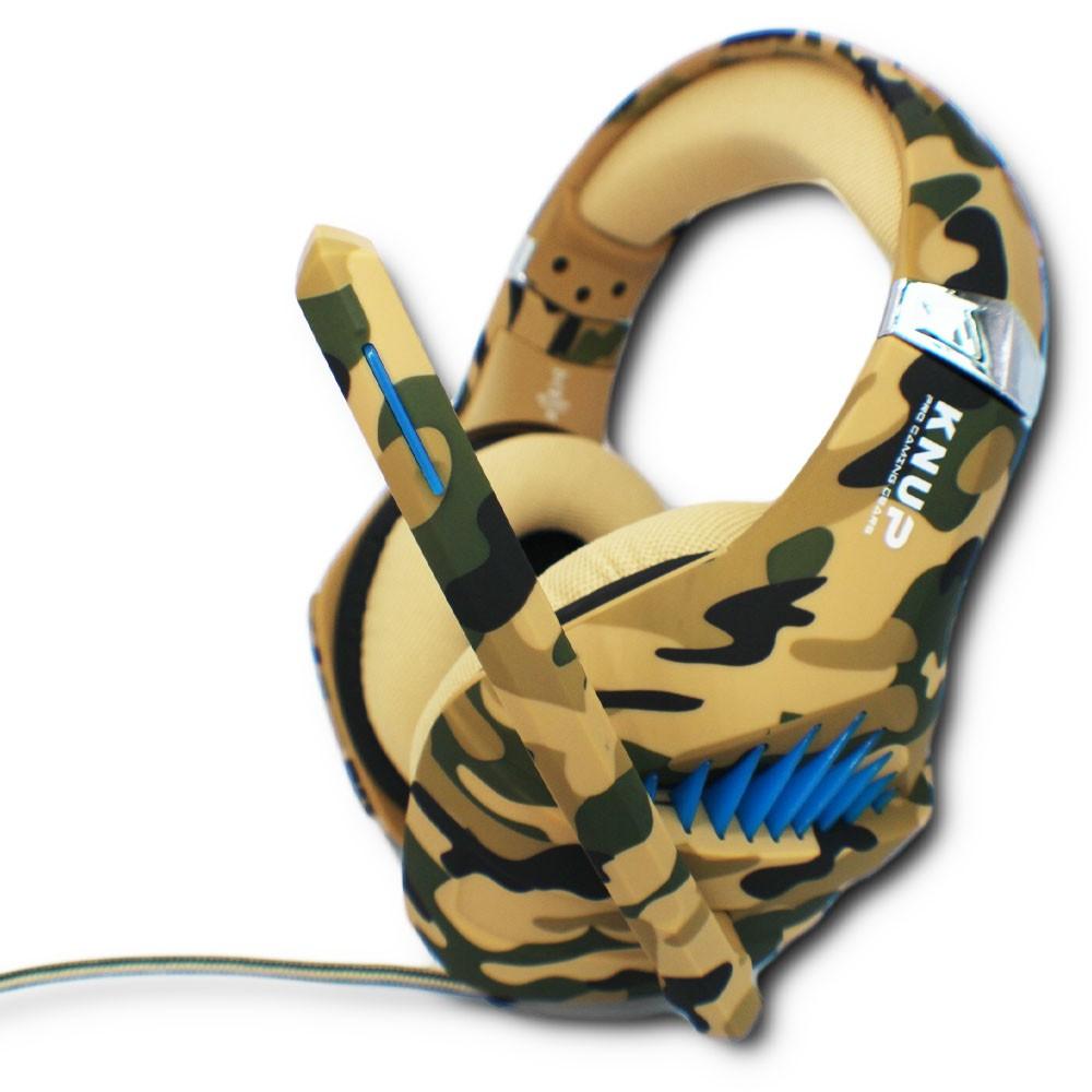 Fone de Ouvido Headphone Headset Gamer Microfone e Adaptador