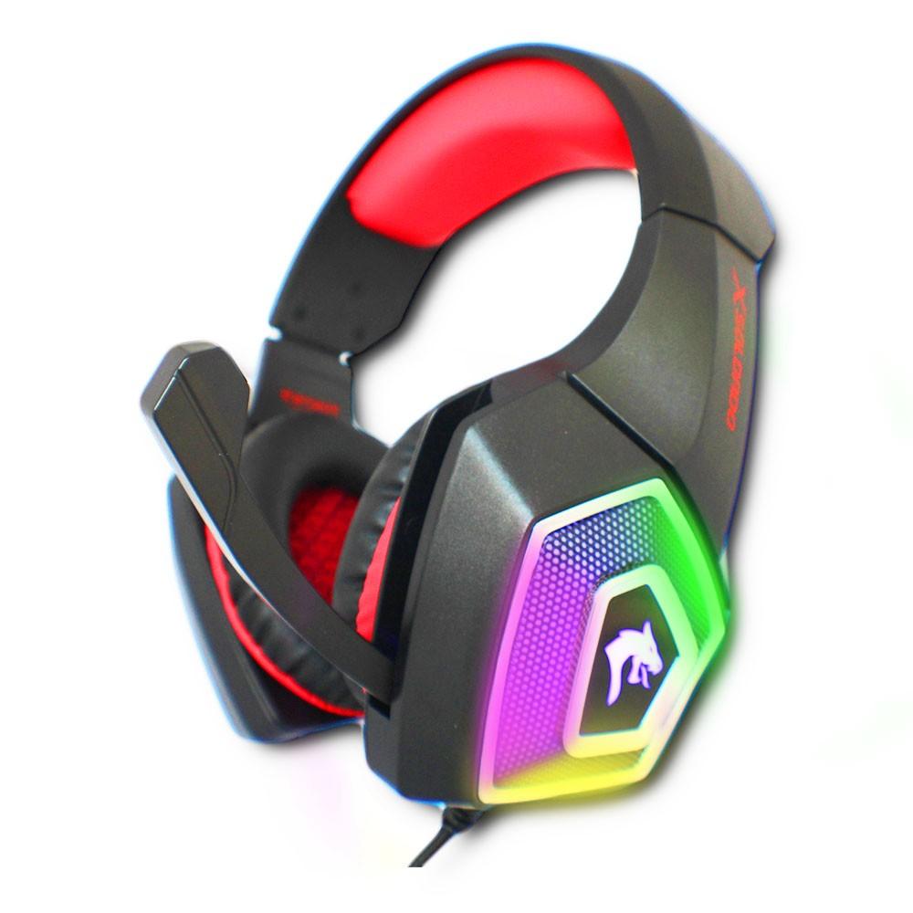 Fone Gamer Headphone Ouvido Com Led RGB Surround Bass