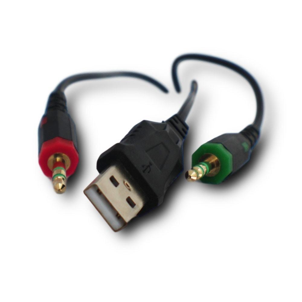 Fone Headphone De Ouvido Gamer Para Jogo Pc  C/ Led P2 Usb