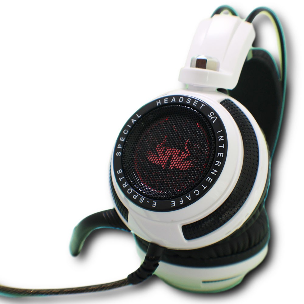 Fone Headset Headphone Ouvido Gamer 7.1 Led e Microfone Pc