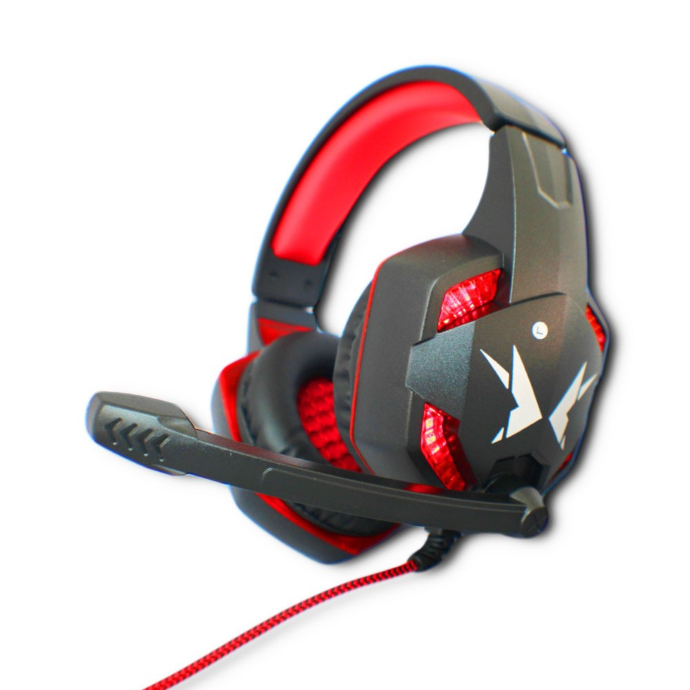 Fone Ouvido Headset Gamer Led Microfone USB P2 Pc Jogos