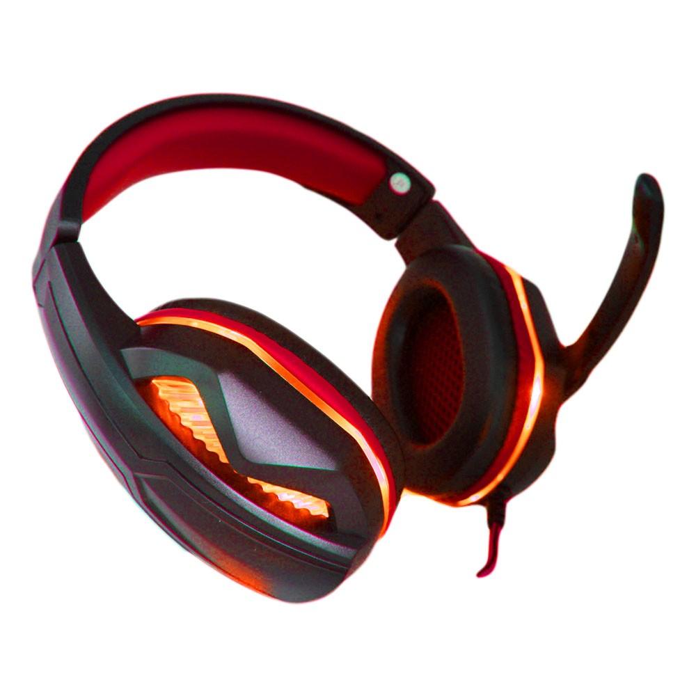 Fone Ouvido Headset Gamer Microfone Led P2 Usb + Adaptador