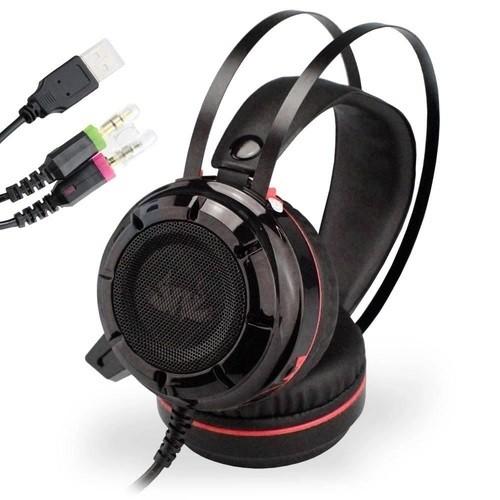 Headphone Gamer Super Bass 7.1 Headset C Led PC Xbox Celular