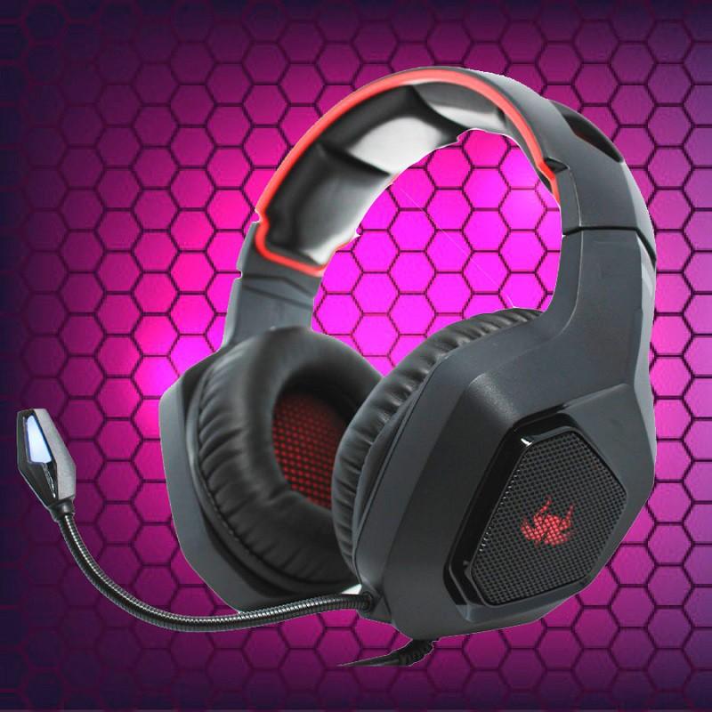 Headset Gamer Headphone Super Bass 7.1 RGB Game PC Celular