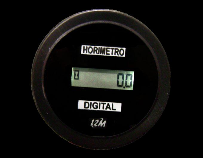 Horímetro Digital Universal Bivolt 12v 24v 52mm