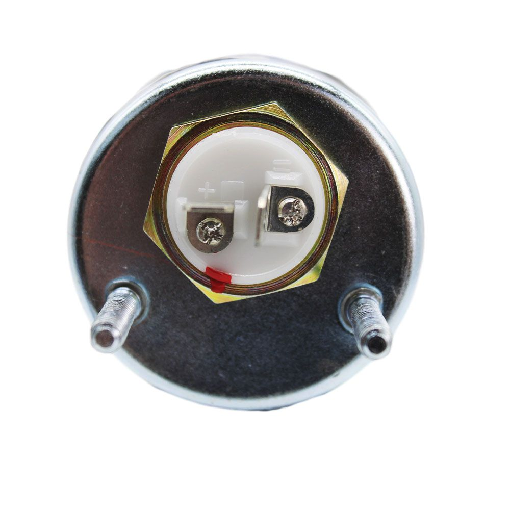 Horímetro Universal 12/24V Elétrico 52mm Ilumin Led Amort